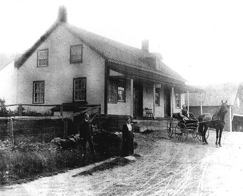 Hallerton's Kenney Store in 1900